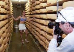 Hier ist Käse das Thema: Amanda Ruch aus Corcelles-le-Jorat, Waadt. (Bild: pd)