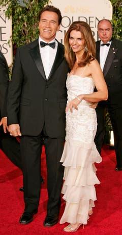 Arnold Schwarzenegger und Maria Shriver an den Golden Globe Awards im Januar 2005. (Bild: Keystone)