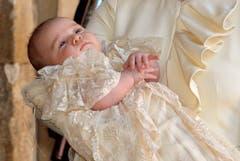 Prinz George ist Nummer drei in der Thronfolge. (Bild: Keystone)