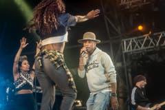 Hip-Hop-Grösse aus den USA: Pharrell Williams. (Bild: Michel Canonica)