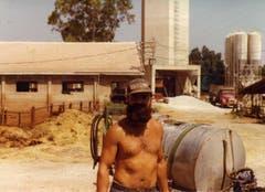 Im Kibbuz Bet Alfa war Ueli Eisenhut für den Kuhstall verantwortlich. (Bild: Ueli Eisenhut)