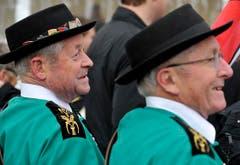 Begeistert vom neuen höchsten Schweizer. (Bild: Reto Martin)