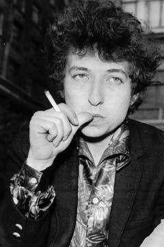 Ein Bild aus jungen Jahren: Dylan 1965 in London. (Bild: Keystone)