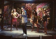 23.04.1982: Der österreichische Popstar Falco bei seinem Auftritt im «WWF-Club in Köln». (Bild: Keystone)