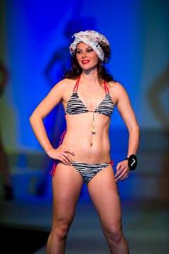 Patricia Rimle machte auch beim Bikini-Durchgang eine gute Figur (Bild: Urs Jaudas)