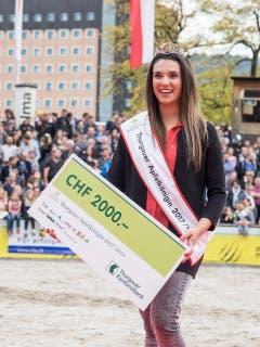 Marion Weibel aus Rickenbach geht als Siegerin hervor. (Bild: Hanspeter Schhiess)