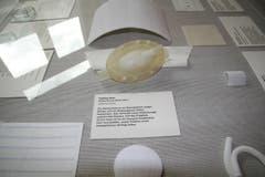 Textiles Herz, Empa: Ziel des Projekts ist es, ein komplett künstliches Herz herzustellen, wobei Textilien einen massgeblichen Beitrag liefern. (Quelle: Textilmuseum) (Bild: Johannes Wey)