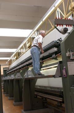 Einblick in die Produktion der Forster Rohner AG. (Bild: Keystone)