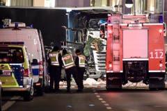 Truck crashed into a Christmas market in Berlin (Bild: Keystone)