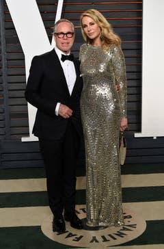 Hilfiger ist seit dem 12. Dezember 2008 mit Dee Ocleppo, einem ehemaligen Model, verheiratet. Sie haben einen Sohn, Sebastian Thomas. (Bild: Keystone)