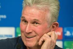 """""""Cando hat zweimal gebellt, und dann war das Ding in trockenen Tüchern."""" Trainer Jupp Heynckes im Oktober über Bedenken vor der Vertragsunterschrift bei Bayern München und seinen Hund. (Bild: Keystone)"""