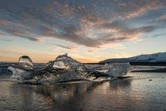 Die isländische Gletscherlagune Jökusarlon. (Bild: Cyrill Schlauri)