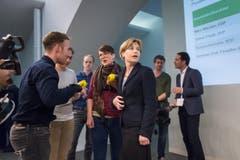 Esther Friedli, SVP, kann sich vorstellen, wieder einmal zu kandidieren. (Bild: Michel Canonica)