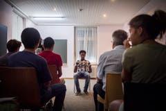 Flüchtlingstag Besuchstag Durchgangsheim Arbon (Bild: Andrea Stalder)