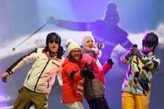 OPENING CEREMONY, EROEFFNUNGSFEIER, CEREMONIE D'OUVERTURE, SKI ALPIN, FIS SKI ALPIN WELTMEISTERSCHAFTEN, SKI ALPIN CHAMPIONNATS DU MONDE, ALPINE SKIING WORLD CHAMPIONSHIPS, (Bild: Keystone)
