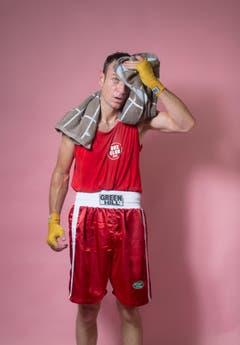 Amateur Benjamin Rittlinger, Jahrgang 1977, Box Club St.Gallen. (Bild: Benjamin Manser und Urs Bucher)
