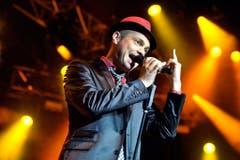 Roger Cicero bei seinem Auftritt am Montreux Jazz Festival im Jahr 2010. (Bild: Keystone)