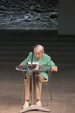 Ruth Roduner betonte, die Familie werde Paul Grüninger nie vergessen. (Bild: Keystone)