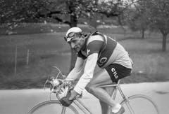 Ferdy Kübler 1947 in Aktion bei der Meisterschaft von Zürich. (Bild: Keystone)