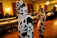Auch die Kühe sind unterwegs. (Bild: Reto Martin)