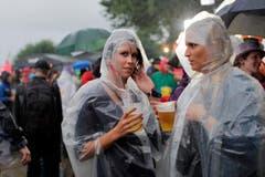Der Samstag fiel am SummerDays in Arbon komplett ins Wasser - aber nur wettertechnisch. (Bild: Stefan Beusch)