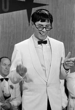 """Jerry Lewis in einer Szene seines wohl bekanntesten Films """"Der verrückte Professor"""" von 1962. (Bild: Keystone)"""
