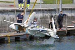 Kurz nach dem Start hatte das Kleinflugzeug an Leistung verloren. (Bild: Rudolf Hirtl)