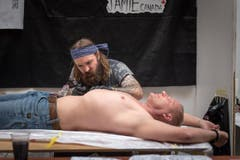Tattoo Convention in Gossau (Bild: Michel Canonica)