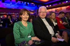 Alt Bundesrätin Ruth Metzler und Bischof Markus Büchel gehören zu den Gästen. (Bild: Urs Bucher)