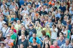 SummerDays Festival 2015 Arbon (Bild: Urs Bucher)