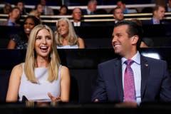 Ivanka Trump mit Bruder Donald im Juli 2016. (Bild: Keystone)