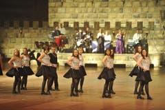 Die Shows verbinden schottische und schweizerische Tradition. (Bild: Hanspeter Schiess)