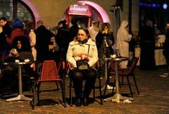Freinacht in Frauenfeld: Alle feiern mit. (Bild: Reto Martin)