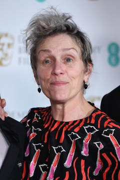 Beste Hauptdarstellerin: (Wird gewinnen) Frances McDormand - Die Trauer und Unsicherheit hinter der Wut ihrer Figur ist jederzeit spürbar. Der Preissegen im Vorfeld deutet auf ihren zweiten Oscar hin. (Bild: Getty)