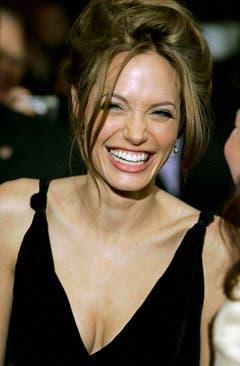 """Jolie an der Premiere von """"A Mighty Heart"""" in New York im Jahr 2007. (Bild: Keystone)"""