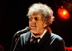 Bob Dylan ist am Dienstag, 23. Mai, 75 Jahre alt. Zu auserwählten Bildern des Musikers gibt es hier sieben unbekannte Geschichten über Dylan zu lesen. (Bild: Keystone)