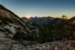 Der Alpstein, vom Staubern Grat aus gesehen. (Bild: Cyrill Schlauri)