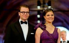 Prinz Daniel von Schweden und Kronprinzessin Victoria von Schweden. (Bild: Keystone)