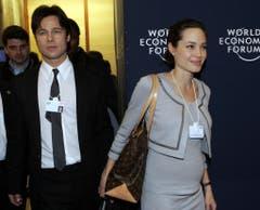Seit 2005 sind sie ein Paar, seit 2014 verheiratet: Brad Pitt und Angelina Jolie. (Bild: Keystone)
