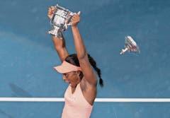 Losgelöst: US-Open-Siegerin Sloane Stephens (USA). (Bild: NICK DIDLICK (AP))