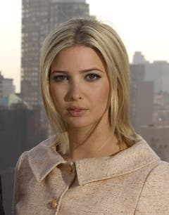Ivanka Trump posiert am 11. April 2006 in New York. (Bild: Keystone)