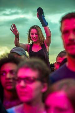 Publikum während des Konzerts von The Roots. (Bild: Reto Martin)