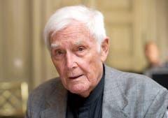 Blacky Fuchsberger erlitt schon zwei Schlaganfälle - nun ist er im Alter von 87 Jahren gestorben. (Bild: Keystone)