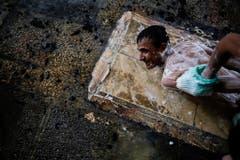 APTOPIX IRAQ SPA (Bild: BRAM JANSSEN (AP))