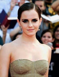 """11. Juli 2011: Emma Watson bei der Premiere von """"Harry Potter and the Deathly Hallows: Part 2"""" in New York. (Bild: Keystone)"""
