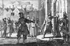Nachdem die Reformierten in den eidgenössischen Kappelerkriegen unterlagen, rekatholisierten Äbte und Mönche in den 1530er-Jahren viele Ostschweizer Gebiete, welche zuvor die Reformation angenommen hatten. Vor allem kleinere Landstädte wie Rapperswil oder Uznach neigten zur Rückkehr zum alten Glauben.