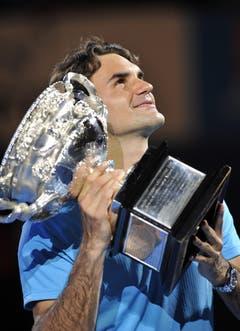 2010 Australian Open gegen Andy Murray (GBR) 6:3, 6:4, 7:6 (Bild: Franck Robichon / Keystone)