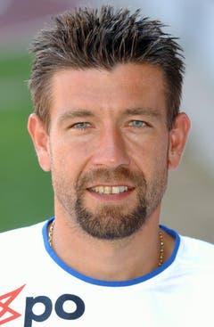 Urs Fischer im Sommer 2002 im Dress des FC Zürich. (Bild: Keystone)