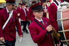 Impressionen vom Eidgenössischen Blasmusikfest St. Gallen (Bild: Ralph Ribi)
