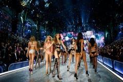 Die Victoria-Secret-Models. (Bild: Keystone)